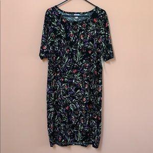 NWT 3XL Lularoe Julia Floral Dress